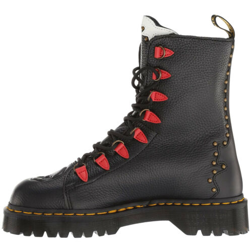 Dr.Martens Nyberg Leather Casual Lace-Up Combat Womens Boots