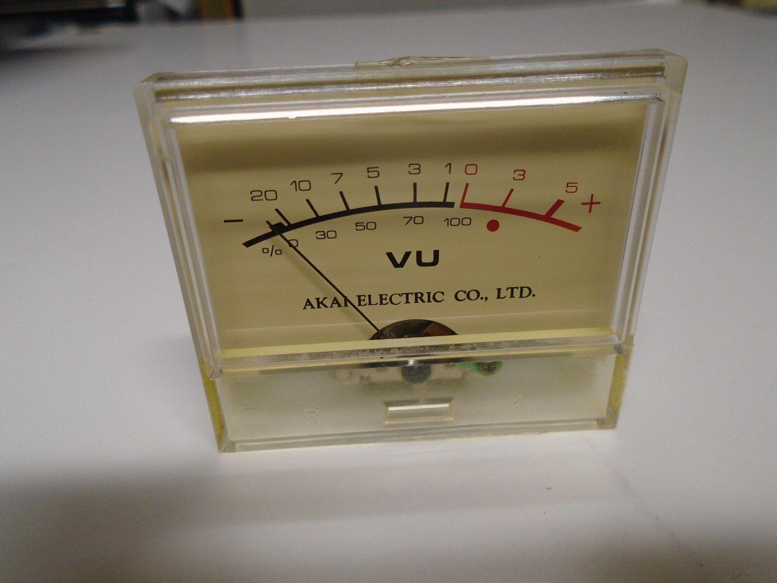 Akai 202d Ss Reel To Vu Meter Kl 243s 5 P N Em558180 Used 3