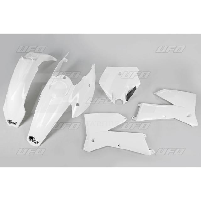 47409: UFO Kit plástica completo UFO KTM blanco KTKIT503-047