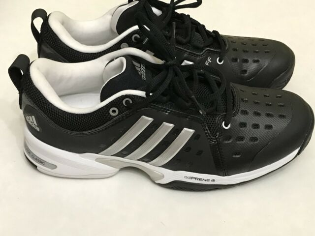 8cd1a4134c66 NEW  Adidas Performance Barricade Classic Wide 4E Tennis Shoe Black ...