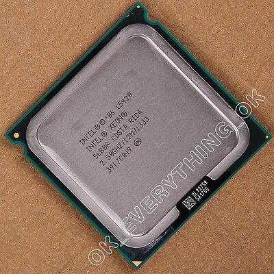 Intel Xeon Quad Core Processor L5420 2.5GHz slbbr CPU CACHE SOCKET LGA 771 J