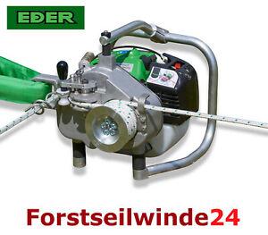 EDER-Spillwinde-Powerwinch-Nordforest-ESW-1200-Forstseilwinde-Benzinwinde