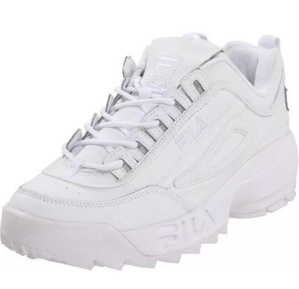 fila disruptor ii men FEO1655-148 White White Size 8 U S