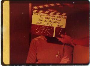 Star-Trek-TOS-35mm-Film-Clip-Slide-Lights-of-Zetar-Clapper-Board-Spock-3-18-30