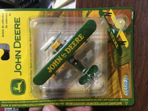 Gearbox John Deere Stearman Barnstormer Bi-Plane Die-Cast Replica New 2003