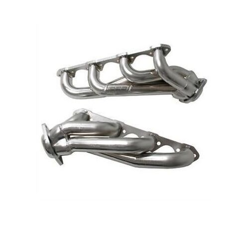 """86-93 Ford Mustang Foxbody 5.0L BBK Chrome 1 5//8/"""" Uneven Short Tube Headers"""