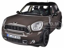 2010 MINI COOPER S COUNTRYMAN BROWN 1/18 DIECAST CAR MODEL BY NOREV 183104