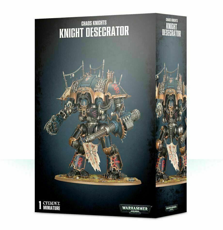 40K Warhammer Chaos Knight Desecrator NIB