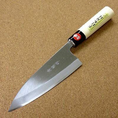 "Kitchen & Steak Knives Japanese Kiyotsuna Kitchen Deba Knife 165mm 6.5"" Single Edged Left Handed Japan Possessing Chinese Flavors"
