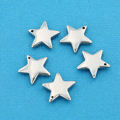 MT608 NEW3 Card Suit Set Stainless Steel Charms or Stamping Tags 4 Piece Set