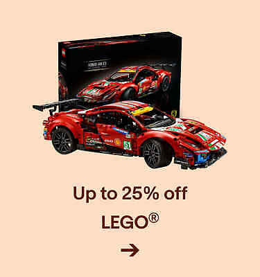 Up to 25% off LEGO?