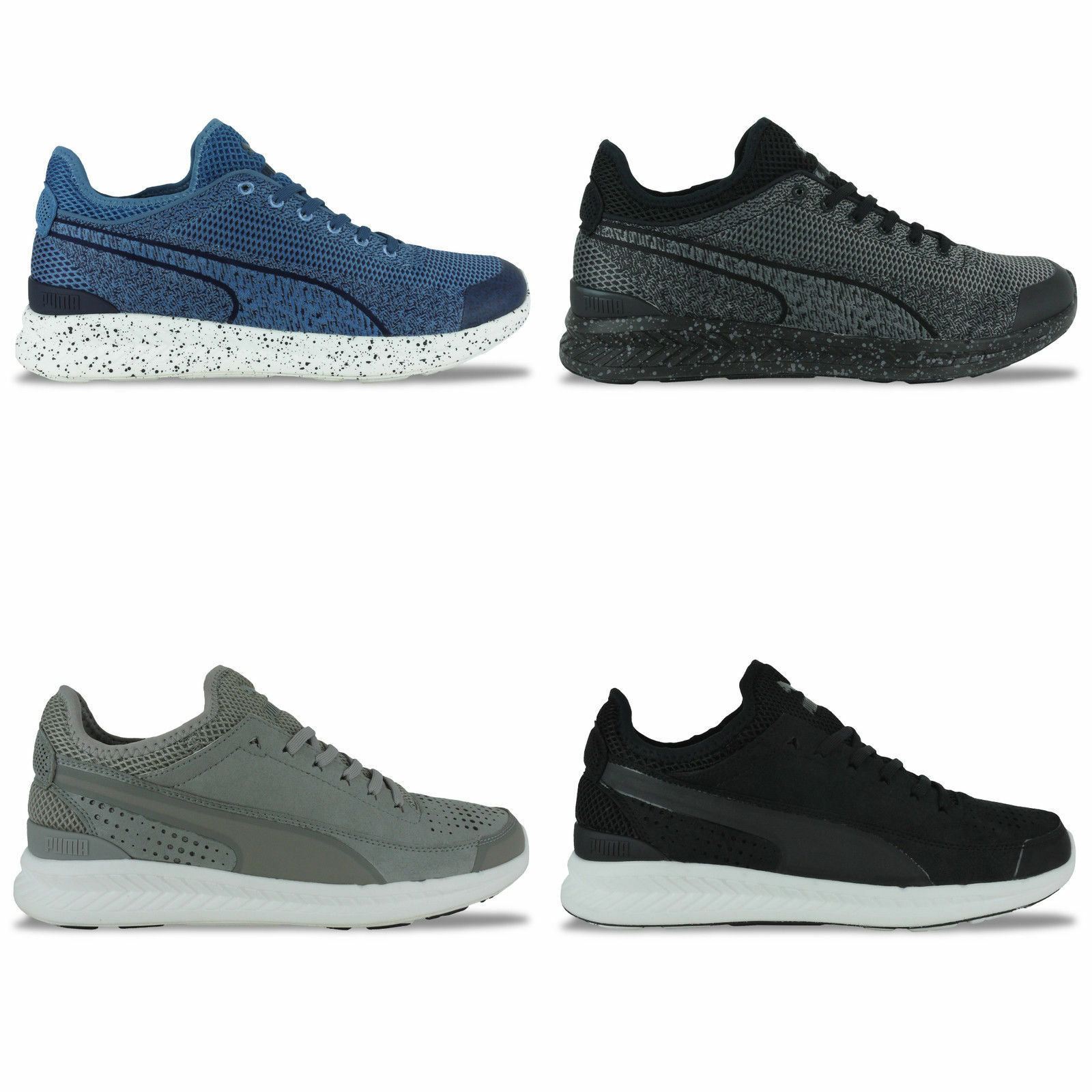 NEW BLUE/GREY/BLACK PUMA IGNITE TRAINERS - BLUE/GREY/BLACK NEW - BNIB 37c8d7