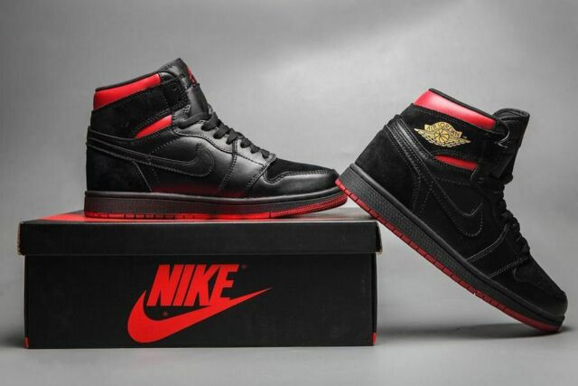 "factory price 39b03 6a2f1 Air Jordan 1 Retro Mid ""Last Shot"" 554724-076 Black Tour Yellow"