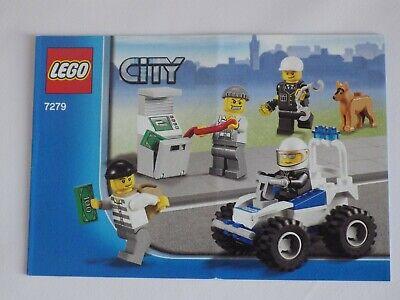 Anleitung Lego City 2011 Bedienungsanleitungen Montage Nr. 7279 Eine VollstäNdige Palette Von Spezifikationen
