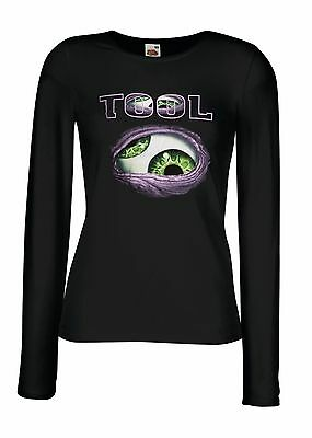 TOOL BAND 1 Lady Long Sleeve T-shirt Woman Rock Band Tee