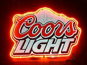 Coors-Light-Beer-Neon-Sign-Display-Store-Beer-Bar-Pub-Cave-Light-Sign17-034-X14-034
