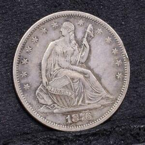 1876-S-Liberty-Seated-Half-Dollar-AU-Details-29649