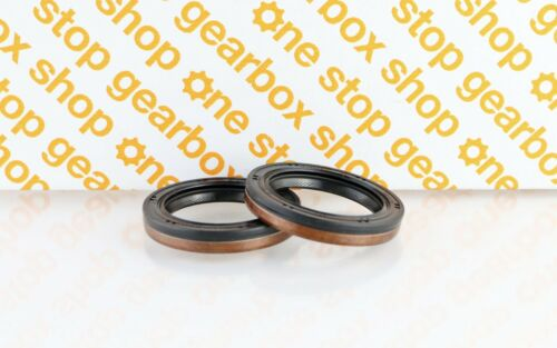 BC GEARBOX DIFF DRIVESHAFT GENUINE OIL SEAL PAIR FORD 5SP IB5