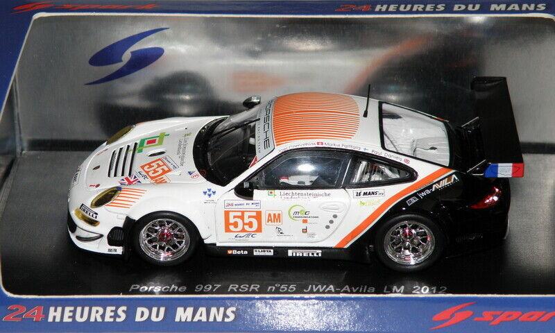 Porsche 911 997 GT3 RSR 24H du MANS LM 2012 SPARK 1 43   S3734