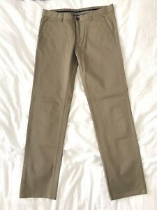 Zara Man Khaki Chinos Pant 32x32