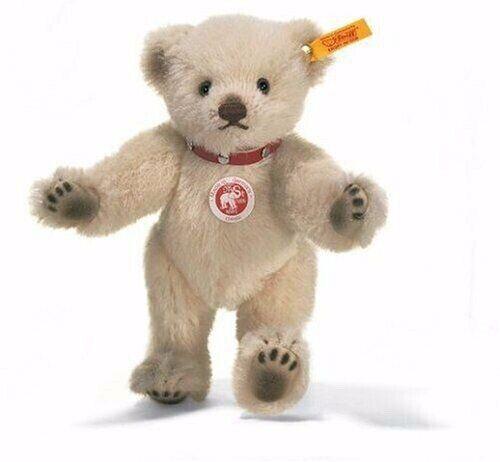 Steiff 027680 Steiff Classic Alpaca Teddy Bear Cream