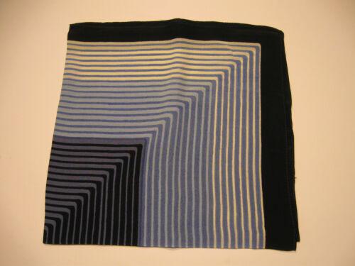 SEIDEN-TUCH Streifen Stripes SCARF SILK SEIDE Nickytuch Bandana in 5 Farben