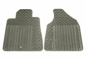 Chevrolet Traverse Floor Mats ... 22890017-Chevrolet-Traverse-All-Weather-Titanium-Grey-Front-Floor-Mats