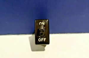 Leviton-Brown-Snap-In-Vintage-Single-Convenience-Toggle-Switch-714-ON-OFF-NEW