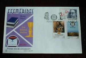 SPD-SOBRES-PRIMER-DIA-1997-MELILLA-SAN-PASCUAL-BAYLON-Y-AUSIAS-MARCH