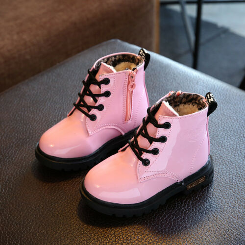 Hot Sale Kids Girl Princess Boots Shoes Children Martin Boots Baby Snow Boots