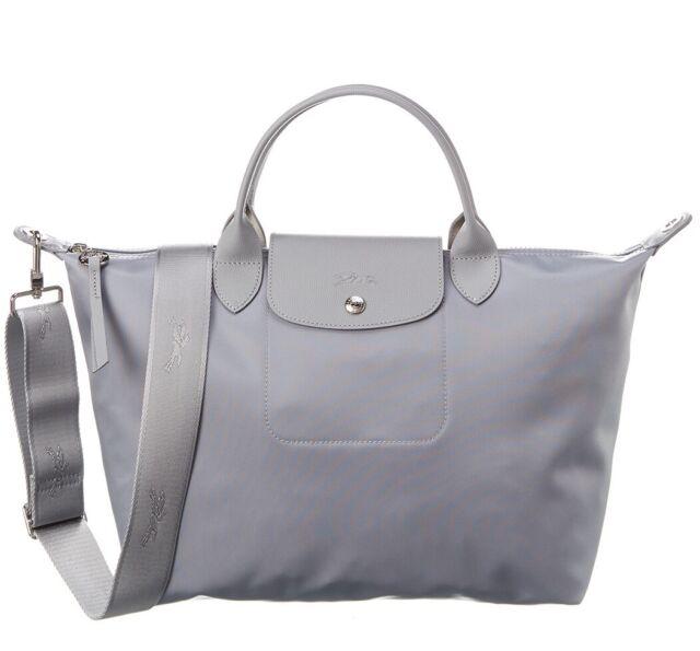 Longchamp Le Pliage Neo Top-handle M Shoulder Bag in Cement