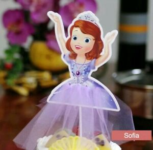 Awesome Princess Sofia The First Birthday Party Cake Decoration Princess Funny Birthday Cards Online Necthendildamsfinfo