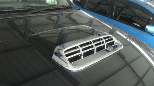 Bonnet Hood Scoop Cover Chrome Trim 1 Pc Fits Toyota Hilux Vigo Champ 2011 2014