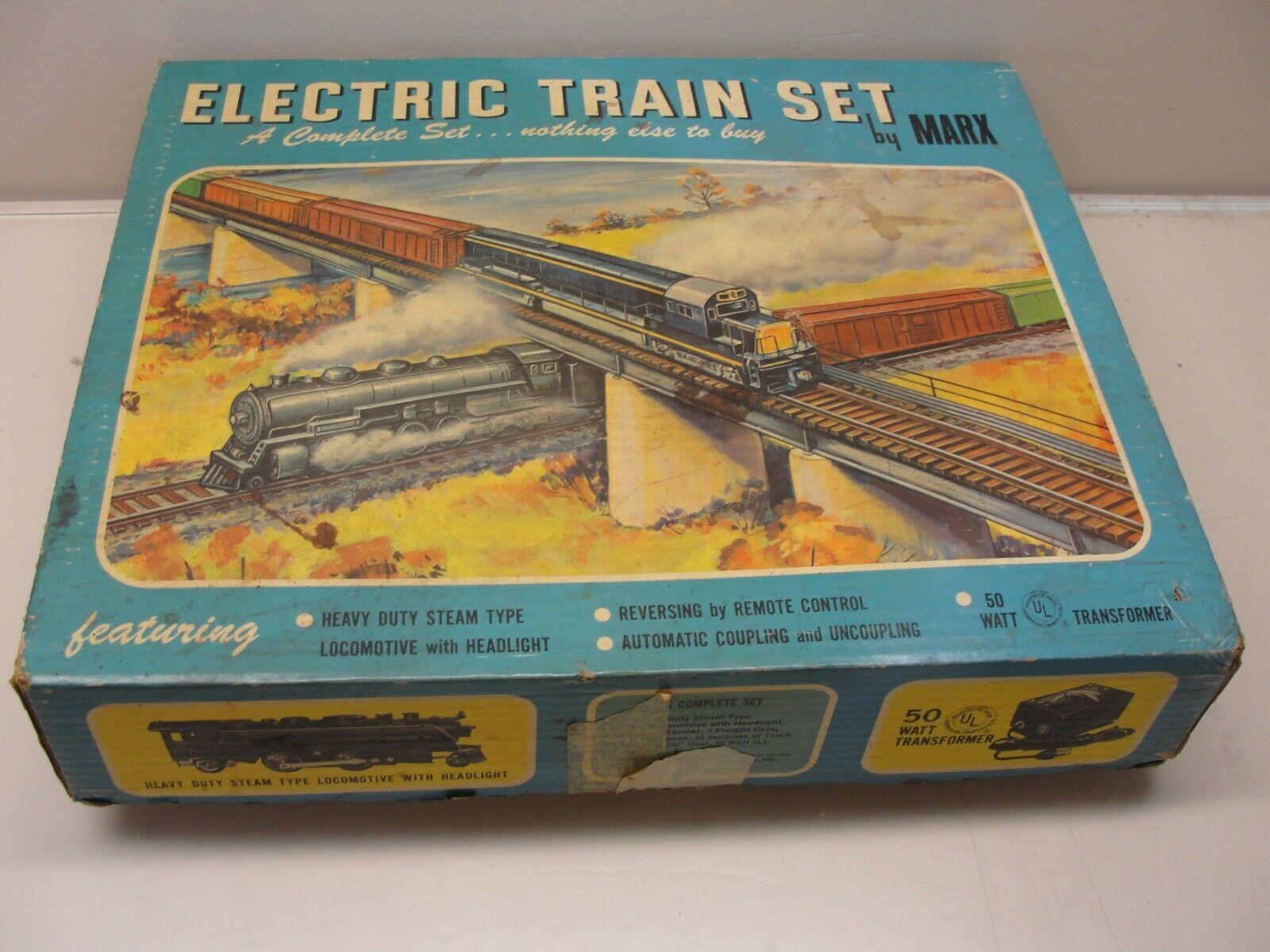 Jahr MARX UNION PACIFIC ELECTRIC TRAIN SET W  BOX