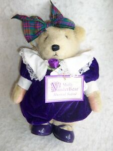 1990 Muffy Vanderbear dressed- Musical Soiree' Retired!