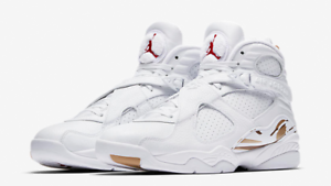 san francisco eaa51 fdb76 Details about 2018 NIKE AIR JORDAN VIII 8 OVO WHITE SIZES UK 8.5 & 10 NEW