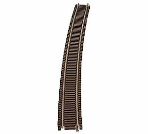 "ATL 2031 Atlas N Scale C55 71"" Radius Half Section Track 6 pack New Free Ship"