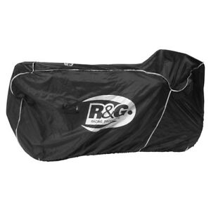 R-amp-G-Racing-Outdoor-Waterproof-Motorcycle-Cover-for-Supersport-Superbikes-Black