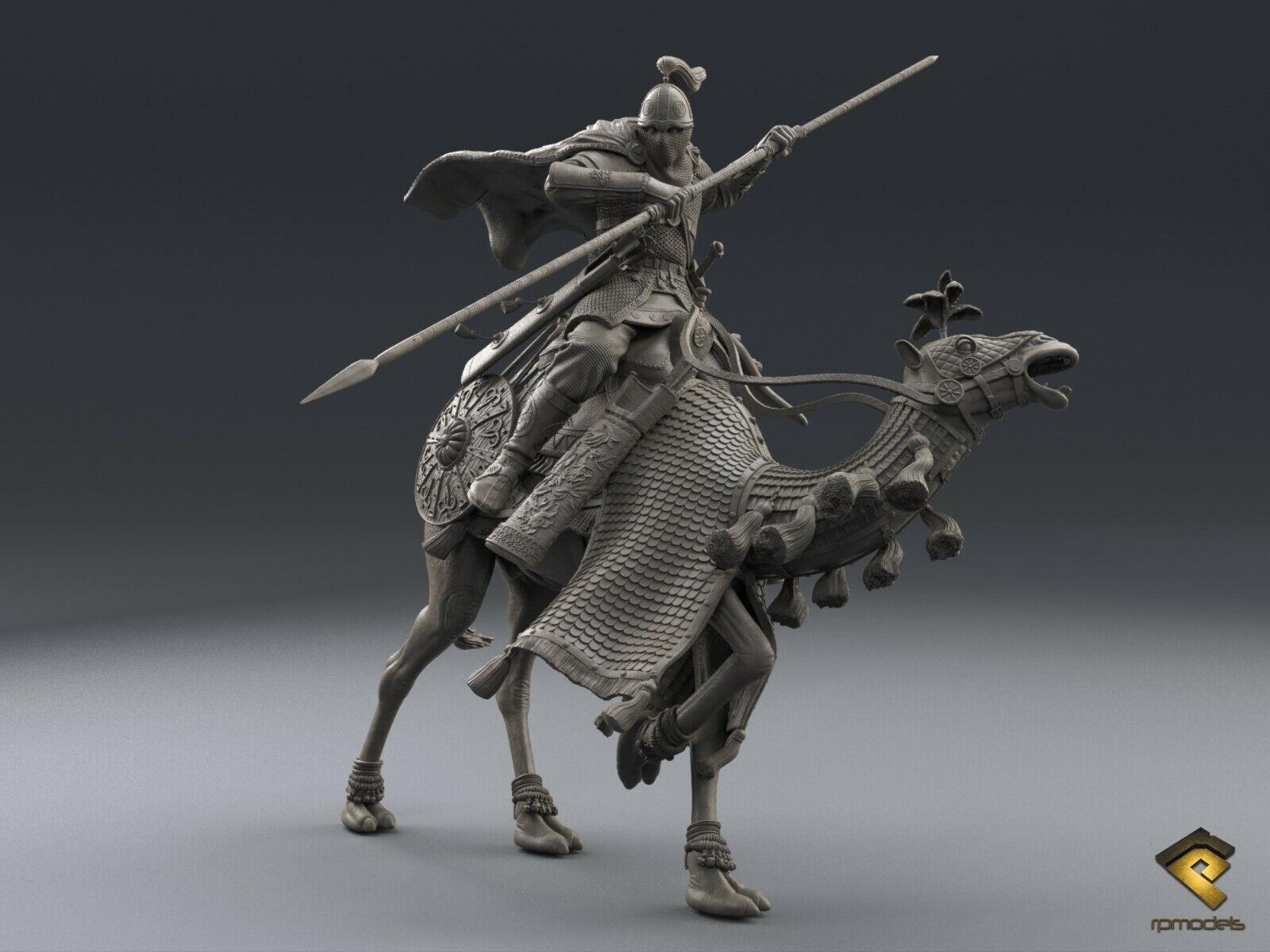 RP Models Parthian Cataphract Unpainted 75mm Figure kit