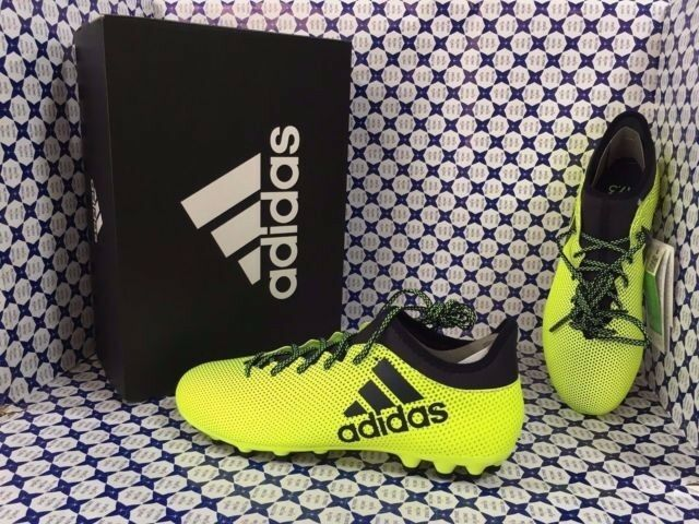 the latest 21a6d 26c4e Scarpe Calcio Adidas X 17.3 AG -- Giallo Giallo Giallo Fluo -- S82361 91eb13