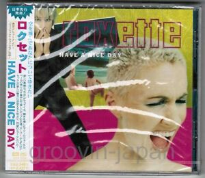 Sealed-ROXETTE-Have-A-Nice-Day-JAPAN-CD-TOCP-65156-w-OBI-PS-2001-issue-Free-S-amp-H