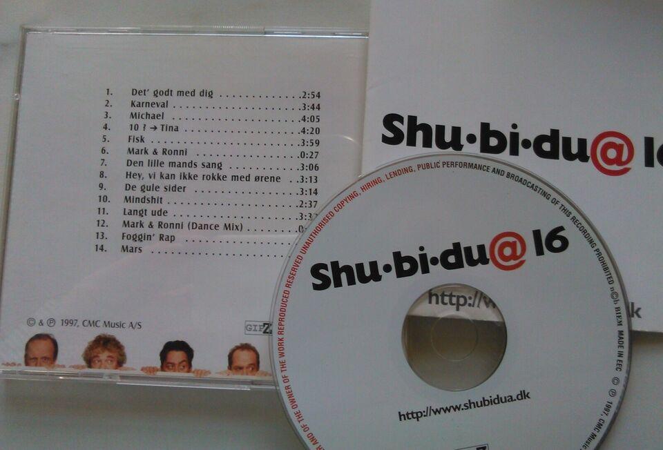 Shu-bi-dua: 4 CD'er stk. 22 kr. - Alle 75 kr., pop