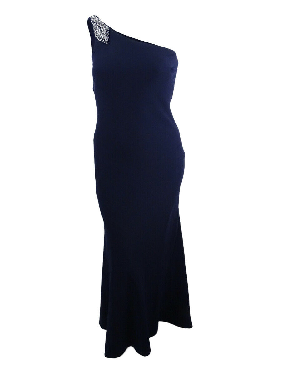 Vince Camuto Women's Embellished One-Shoulder Gown