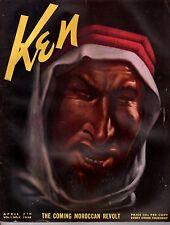 1938 Ken April 1-German leaders hedge money against Hitler; Our Terrible secret