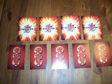Bakugan Battle Brawlers playing cards - set of 8