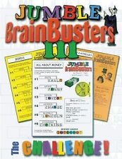 Jumble Brainbusters III : The Challenge! 3 by Tribune Media Services Staff...