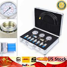 8000PSI Pressure Test Guage Coupling for CAT Caterpillar Komatsu 8000PSI//9000PSI Excavator Hydraulic Pressure Test Kit