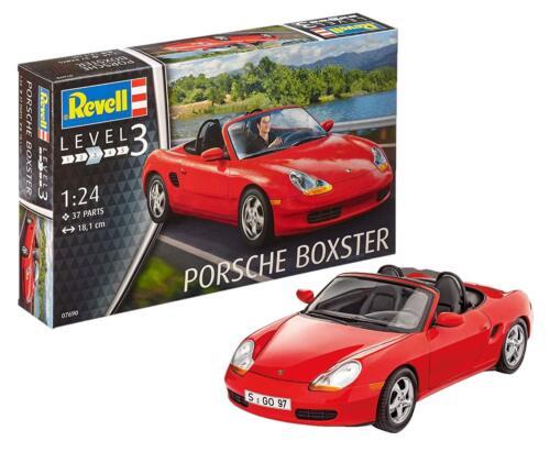 Revell 07690 Porsche Boxter Modellbausatz 1:24