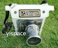 DSLR SLR camera waterproof underwater case housing bag for Nikon D90 D80 D60 D40