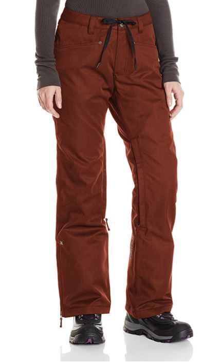 2015 NWT WOMENS NIKITA DEERWOOD SNOWBOARDING PANTS   124 S red ochre  will make you satisfied